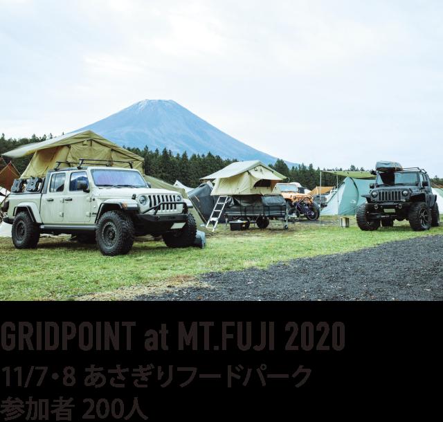 GRIDPOINT at MT.FUJI 2020